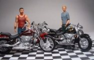 Maisto Harleys and Revell Fast & Furious figures